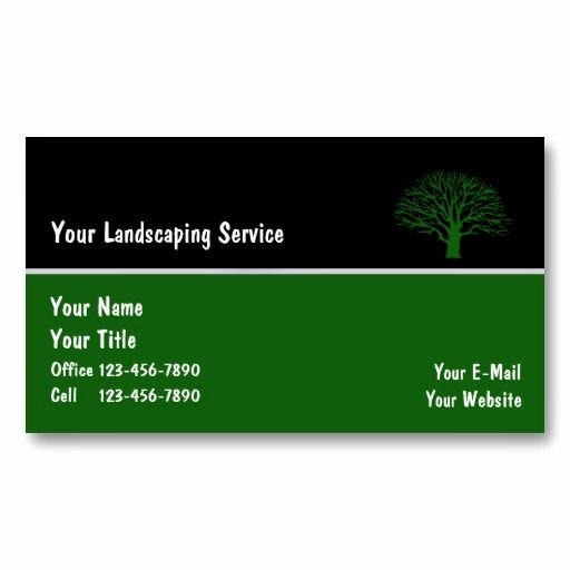 Landscape Business Card Template Unique 22 Best Images About Lawn Service Business Cards On