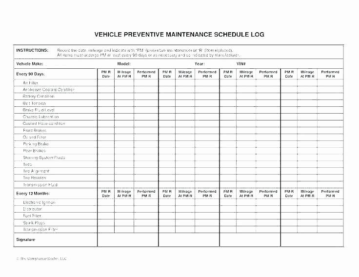 Landscape Maintenance Schedule Template New software Maintenance Plan Template