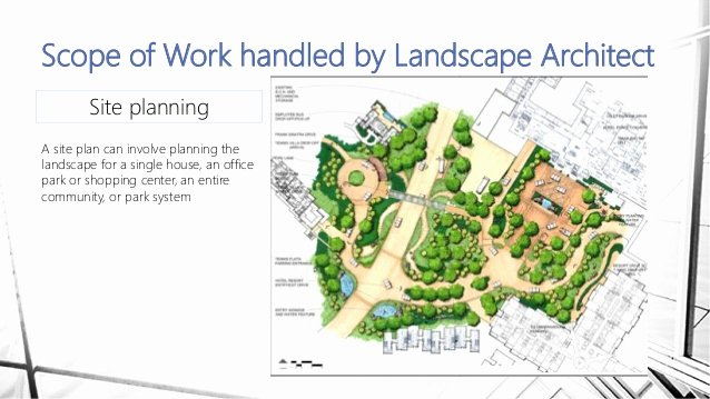 Landscaping Scope Of Work Template Awesome Landscape Architect