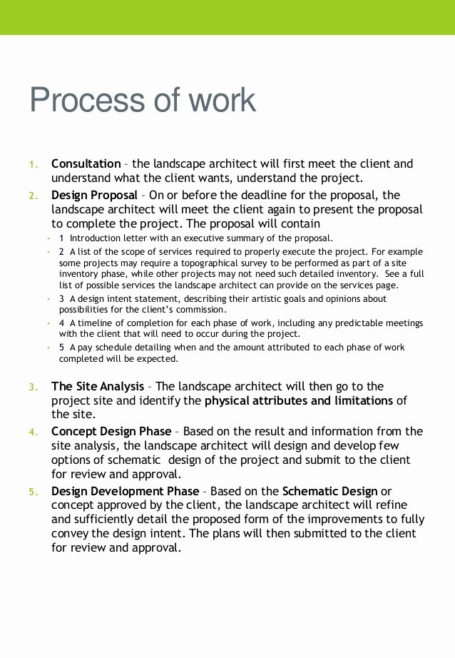 Landscaping Scope Of Work Template Best Of Pany Profile Tw Landscaping