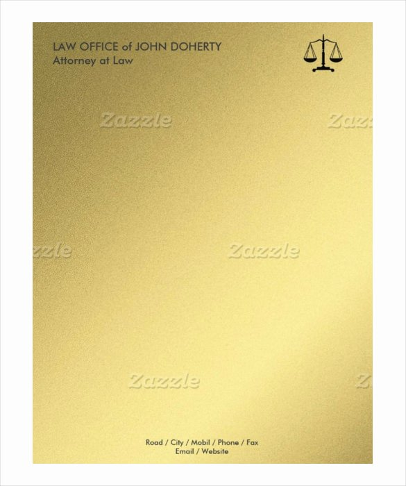 Law Firm Letterhead Template Awesome 21 Law Firm Letterhead Templates Free Word Pdf format