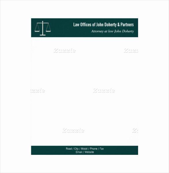 Law Firm Letterhead Template Fresh 21 Law Firm Letterhead Templates Free Word Pdf format