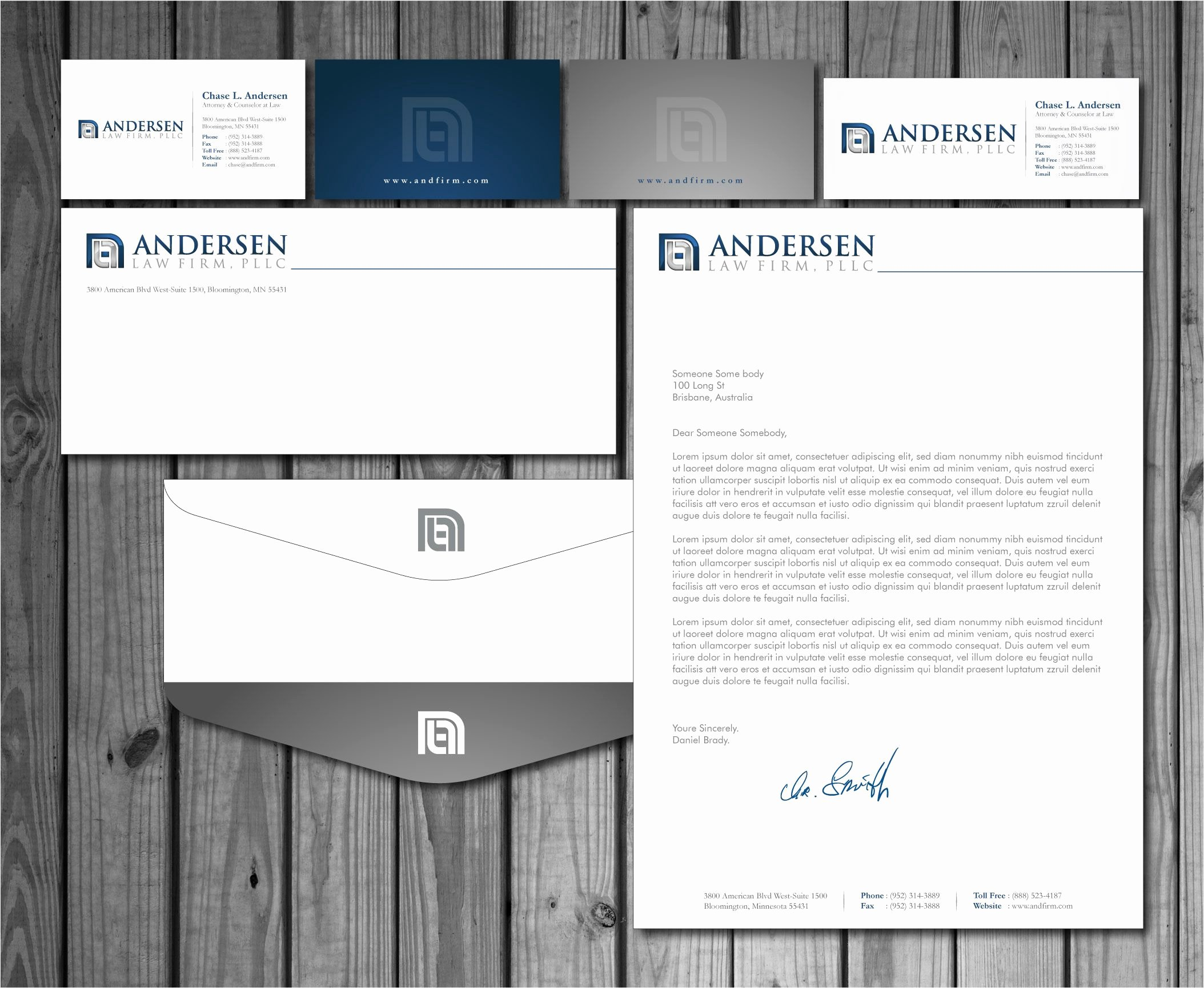 Law Firm Letterhead Template Inspirational Check Out This Design for andersen Law Firm Pllc Business