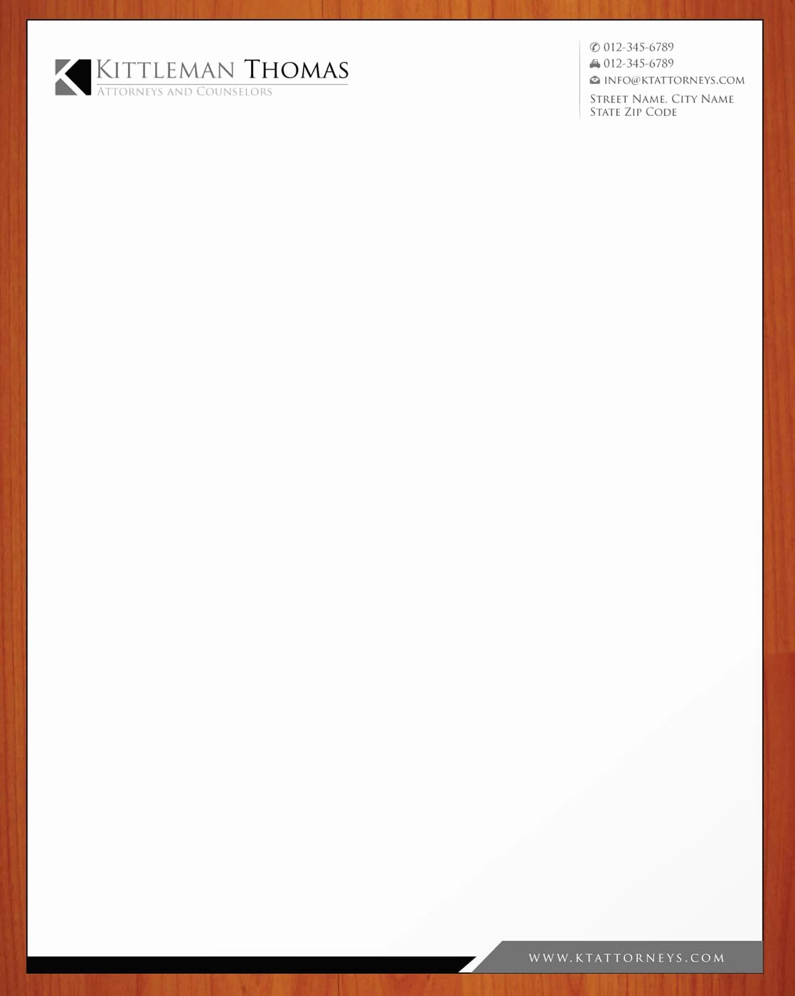 Law Firm Letterhead Template Lovely Law Firm Letterhead