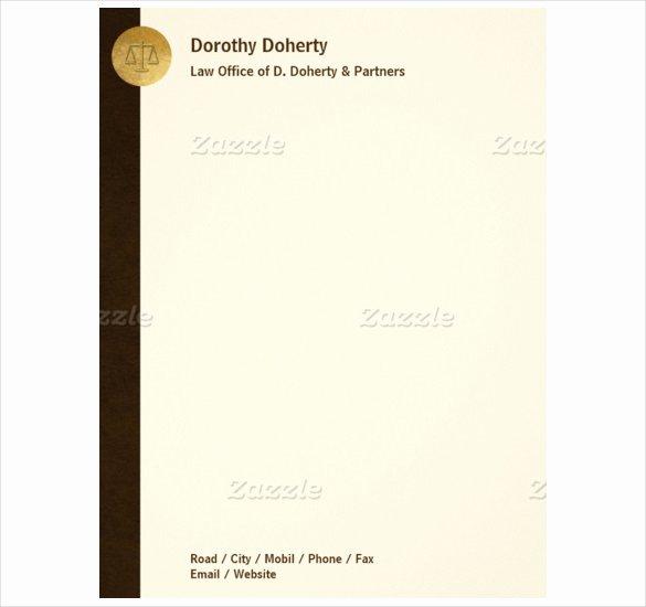 Law Firm Letterhead Template Luxury 24 Letterhead Templates Pdf Doc