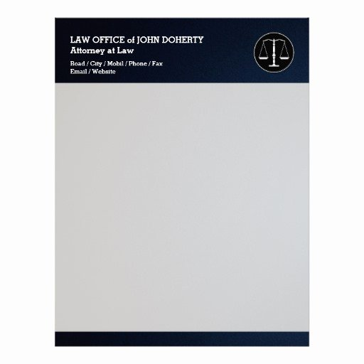 Law Firm Letterhead Template Luxury Law Firm Letterhead Custom Law Firm Letterhead Templates