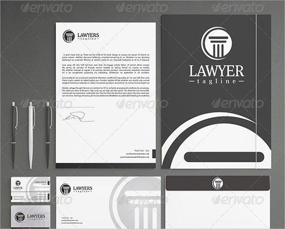 Law Firm Letterhead Template Unique 55 Psd Letterhead Templates