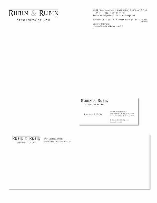 Law Firm Letterhead Template Unique Stationery Design Job – Law Firm Logo and Stationary
