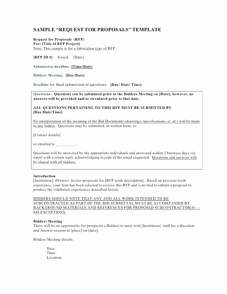 Lawn Care Bid Proposal Template Beautiful Bid Proposal Example How to Write A Bid Proposal Bid