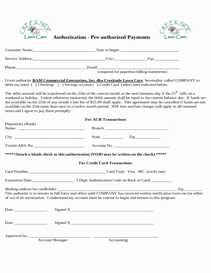 Lawn Care Contract Template Free Lovely Free Lawn Mowing Contracts forms