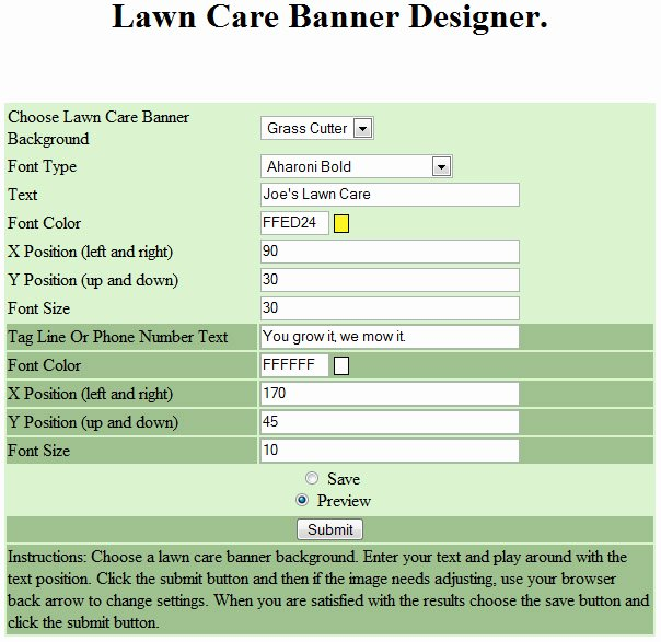 Lawn Care Estimate Template Awesome Free Printable Lawn Care Contract form Generic