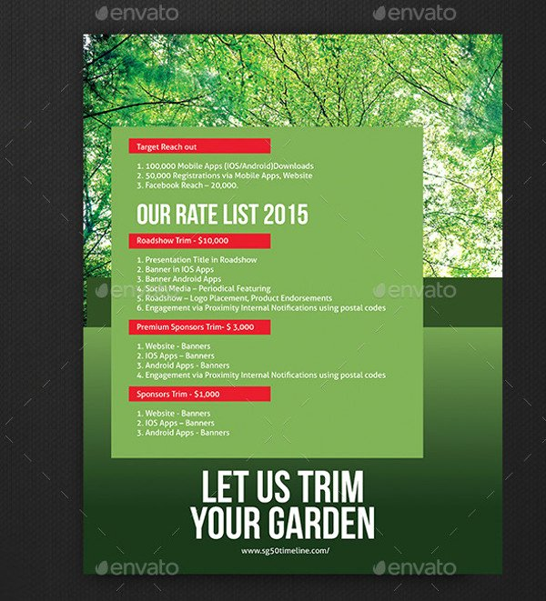 Lawn Care Flyer Template Beautiful 20 Lawn Care Flyers Psd Vector Eps Jpg Download