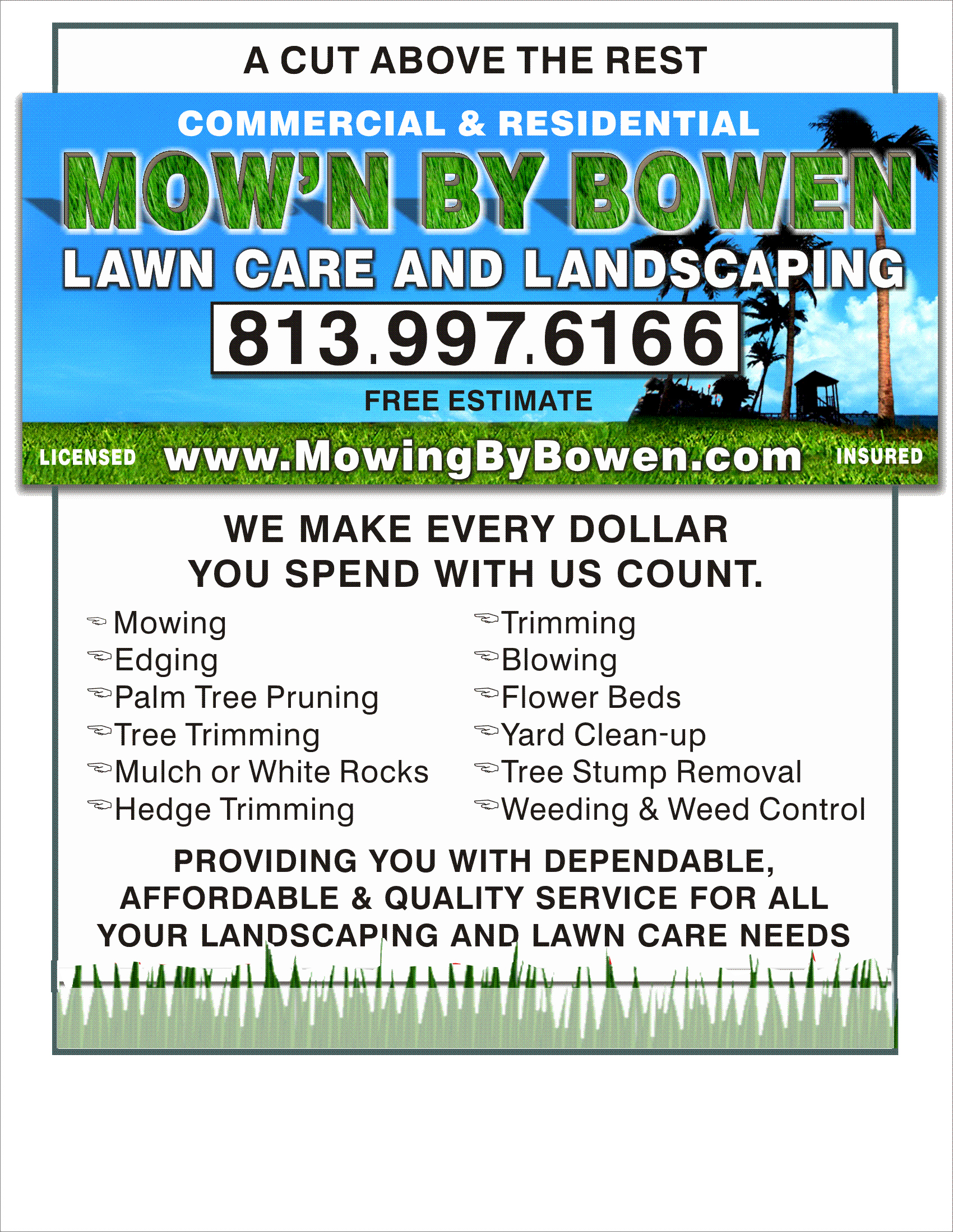Lawn Care Flyer Template Beautiful Examples Lawn Mowing Flyers
