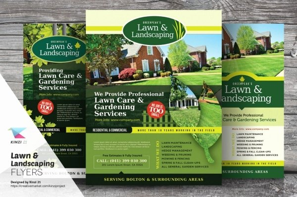 Lawn Care Flyer Template Lovely 20 Lawn Care Flyers Psd Vector Eps Jpg Download