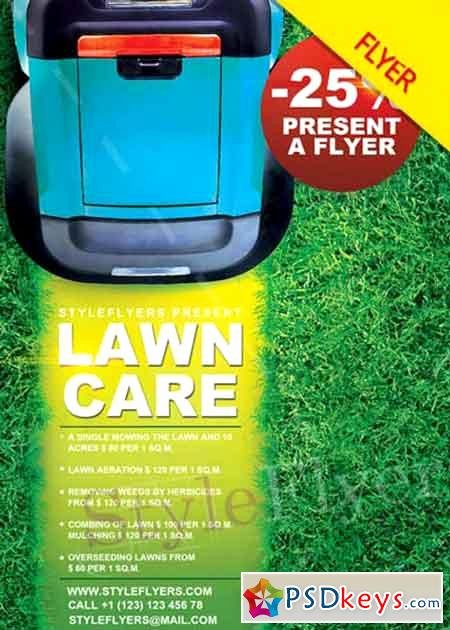 Lawn Care Flyer Template Lovely Lawn Care Psd V6 Flyer Template Free Download Shop