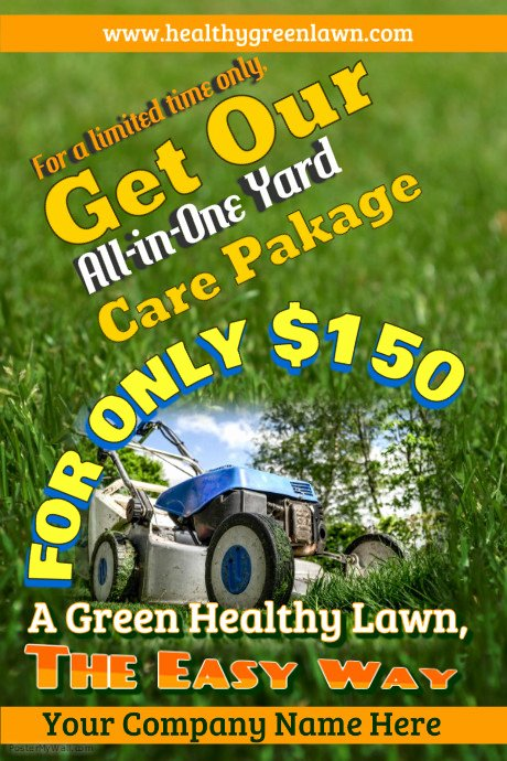 Lawn Care Flyer Template New Lawn Service Flyer Templates