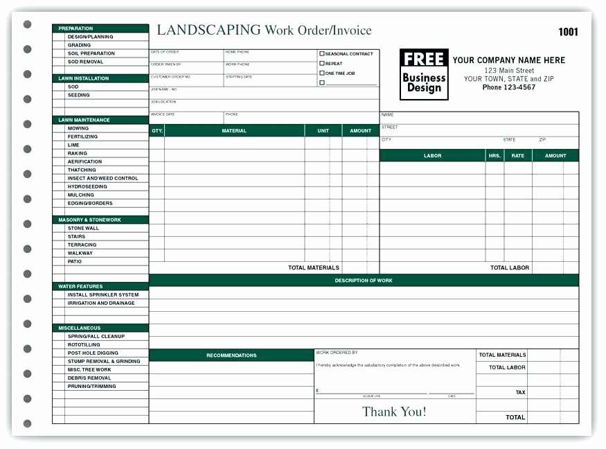 Lawn Care Invoice Template Luxury Lawn Maintenance Invoice Lawn Maintenance Invoice Lawn