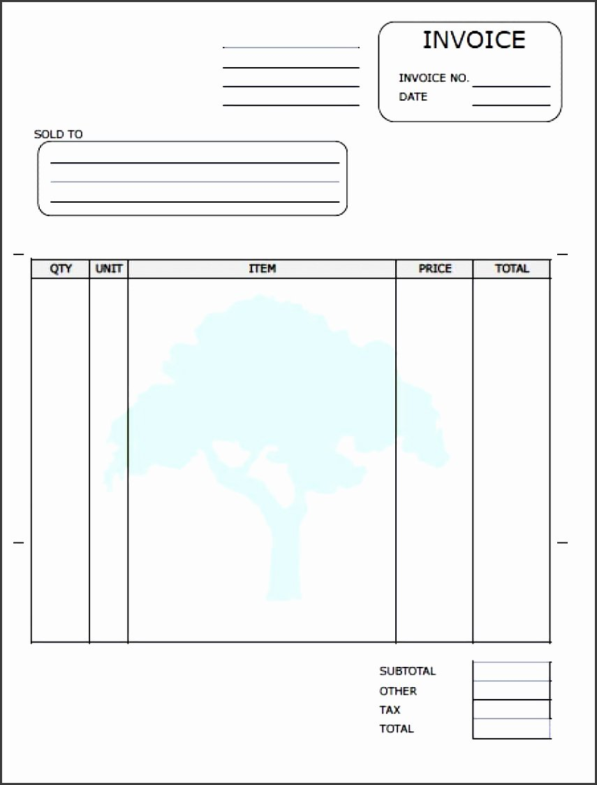 Lawn Care Invoice Template Pdf Lovely 5 Lawn Care Invoice Template Sampletemplatess