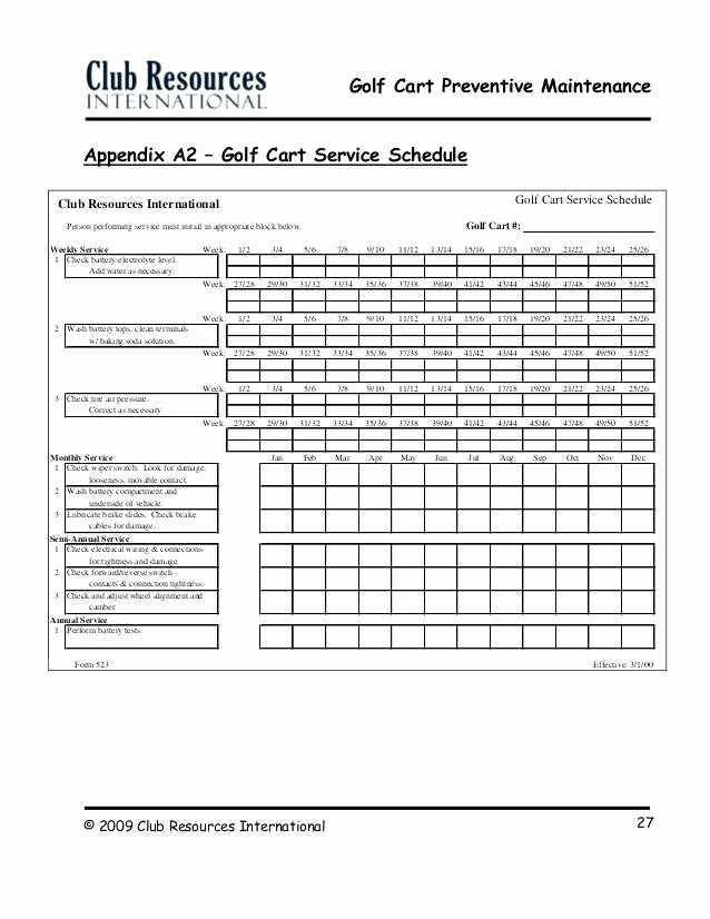 Lawn Maintenance Schedule Template Elegant Lawn Maintenance Schedule Template Mower Checklist