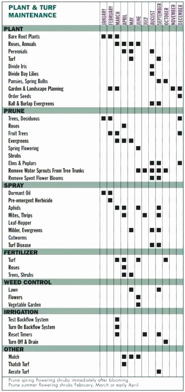 Lawn Maintenance Schedule Template Unique Fice Maintenance Checklist Lawn Template – Updrill