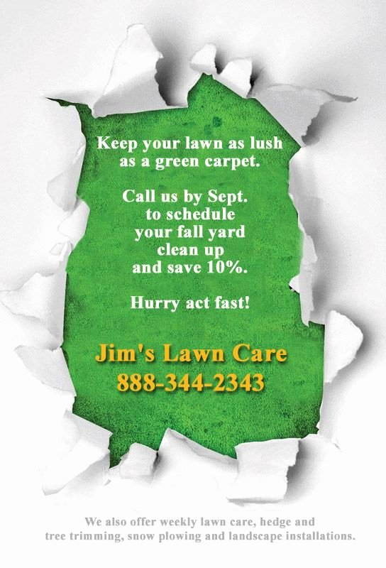 Lawn Mowing Flyer Template Best Of 16 Best Lawn Care Flyers Images On Pinterest