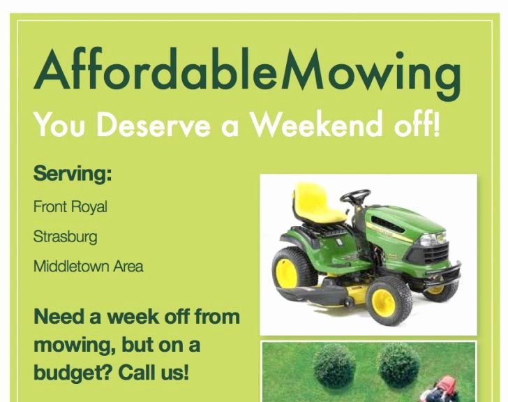 Lawn Mowing Flyer Template Best Of Lawn Care Flyer Template Free I and Green Yellow