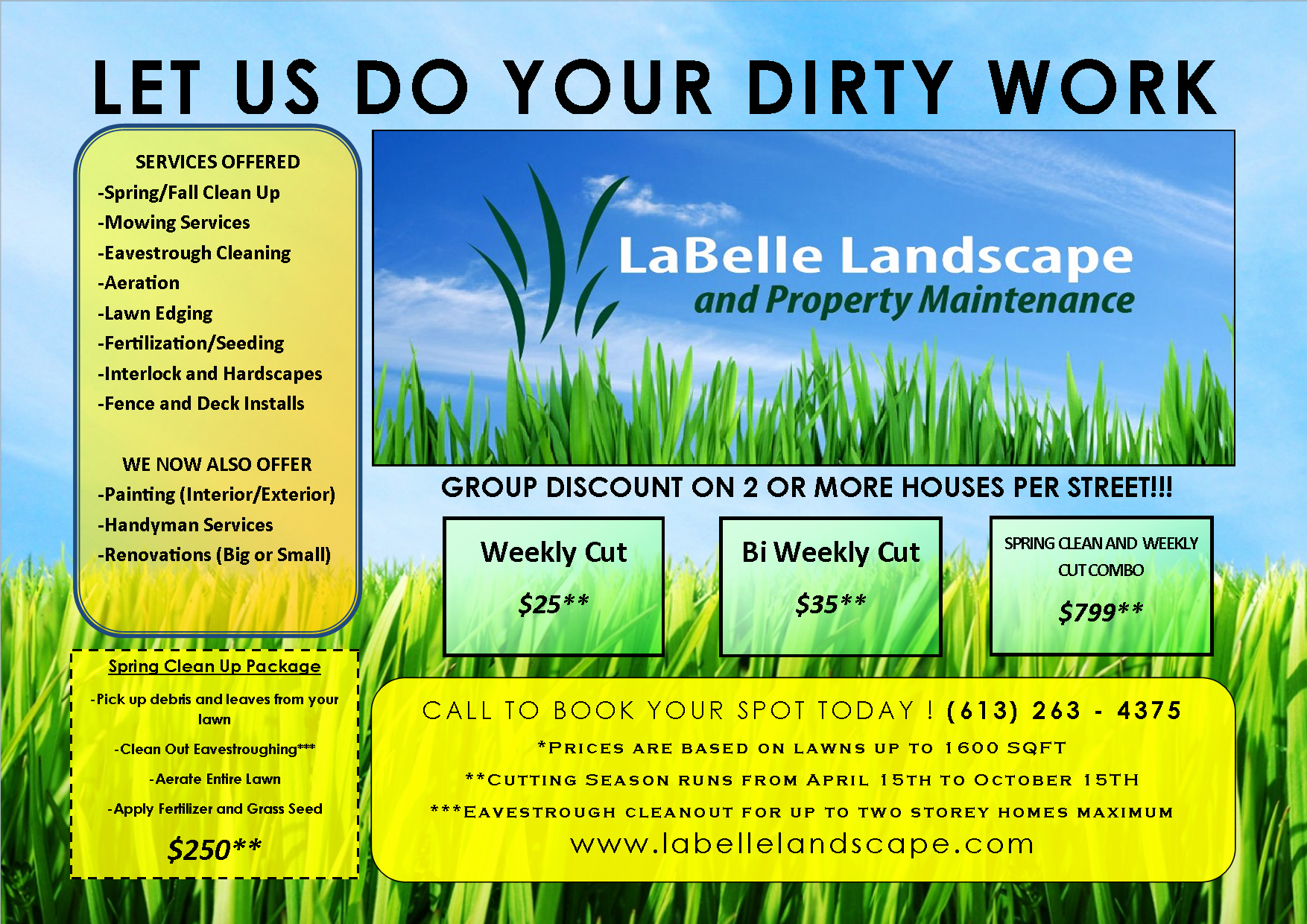 Lawn Mowing Flyer Template Fresh Lawn Care Flyer Free Template