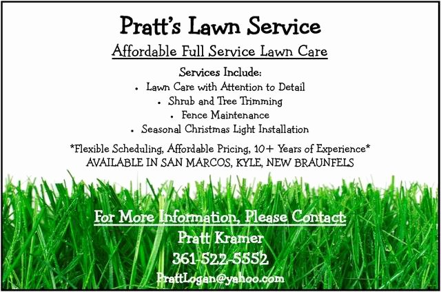 Lawn Mowing Flyer Template Fresh Lawncareflyer2 by Kblon 23