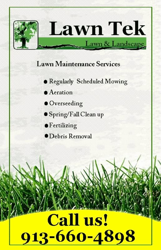 Lawn Mowing Flyer Template Fresh S Residential Lawn Care Flyer Promotions L Free