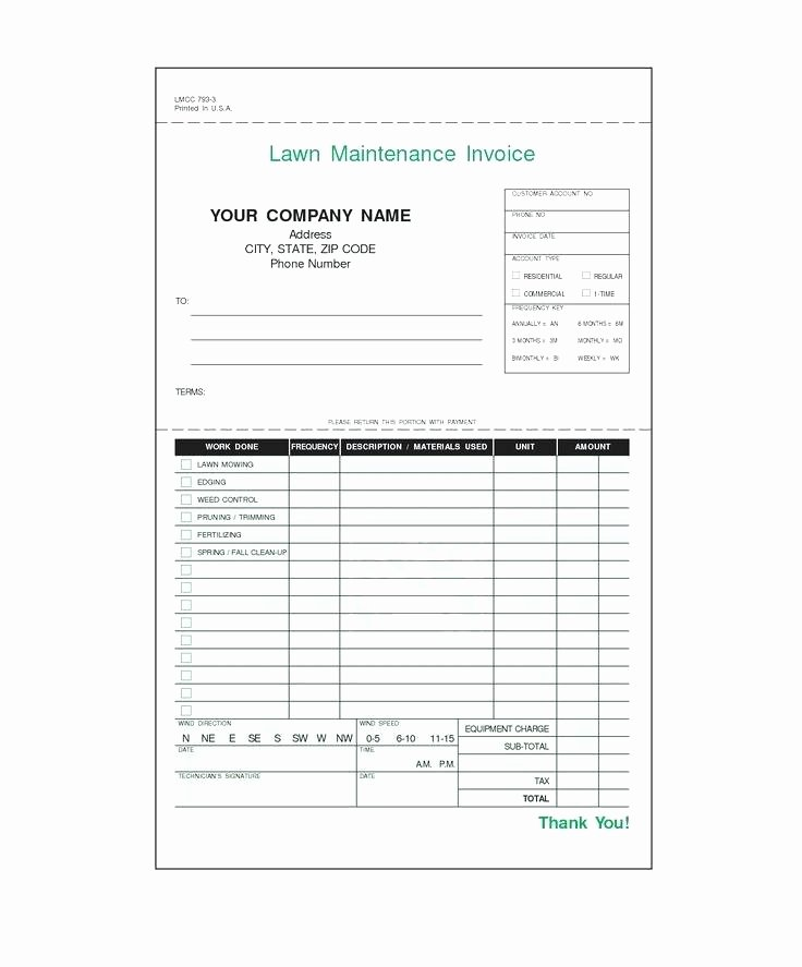 Lawn Service Invoice Template Excel Lovely Lawn Mowing Quote Template – Mediaschoolfo