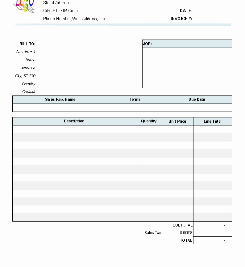 Lawn Service Invoice Template Excel Luxury Professional Servicesice Template Excel Service Cleaning