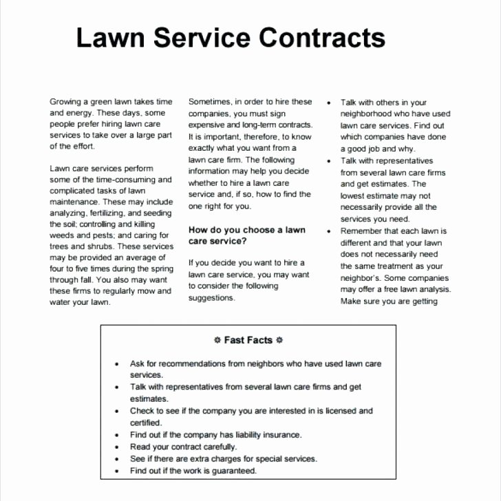 Lawn Service Proposal Template Free Inspirational Simple Tear F Flyer Design Babysitting Template Flyers