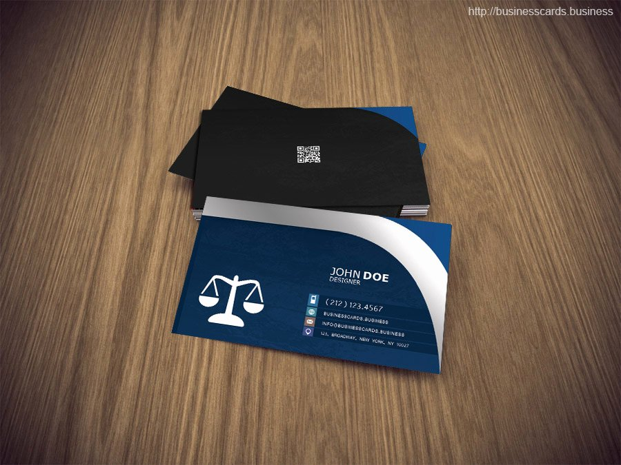 Lawyer Business Card Template Awesome Free attorney Business Card Psd Template Business Cards