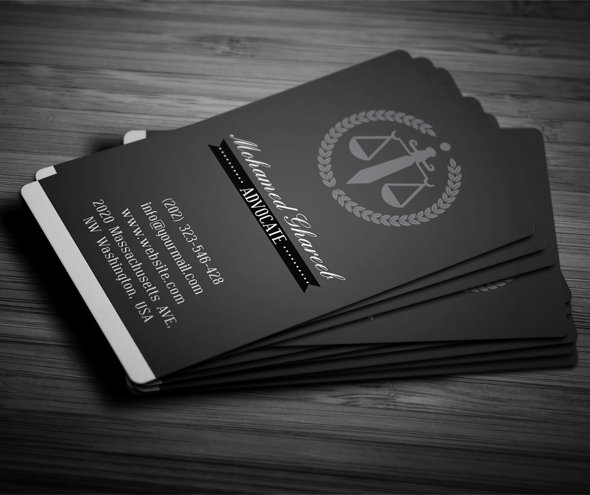 Lawyer Business Card Template Beautiful Creative Lawyer Business Card 4 On Pantone Canvas Gallery