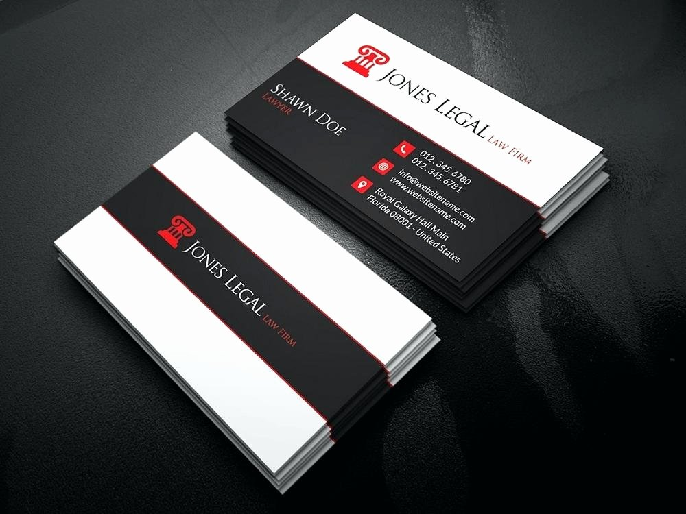 Lawyer Business Card Template Best Of attorney Business Card Template – Jjbuildingfo