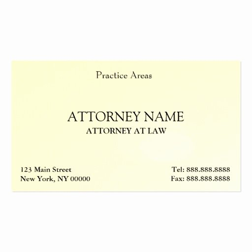Lawyer Business Card Template Elegant attorney Elegant Clean Double Sided Standard Business
