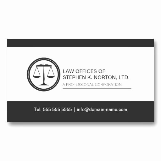 Lawyer Business Card Template Fresh 17 Best Images About Professional attorney Business Cards