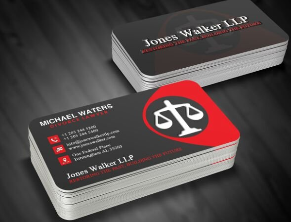 Lawyer Business Card Template Inspirational Free Lawyer Business Card Template Psd Titanui