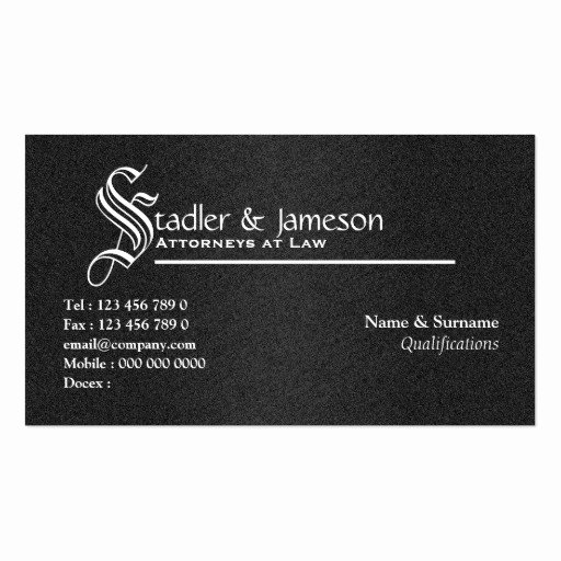 Lawyer Business Card Template Lovely attorney Lawyer Law Legal