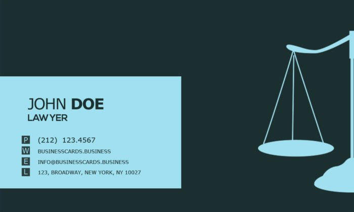 Lawyer Business Card Template Lovely Free Lawyer Business Card Psd Template Business Cards
