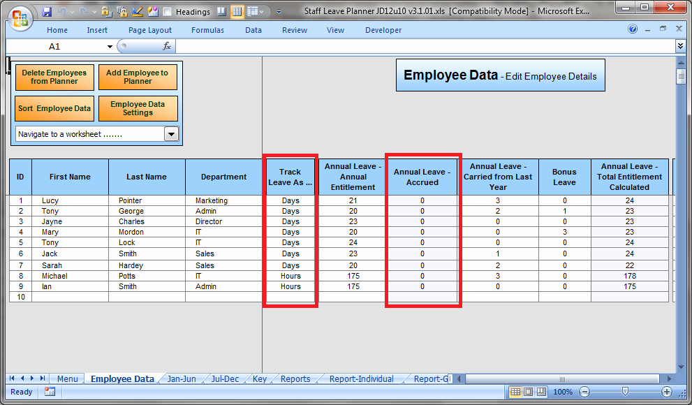 Leave Tracker Excel Template New 12 Employee Tracking Templates Excel Pdf formats