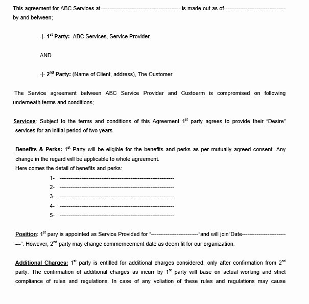 Legal Binding Contract Template Fresh 12 Free Sample Legally Binding Agreement Templates