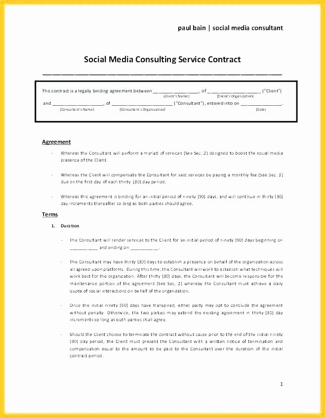 Legal Binding Contract Template Fresh Binding Contract Sample Non Legally Agreement Template Uk