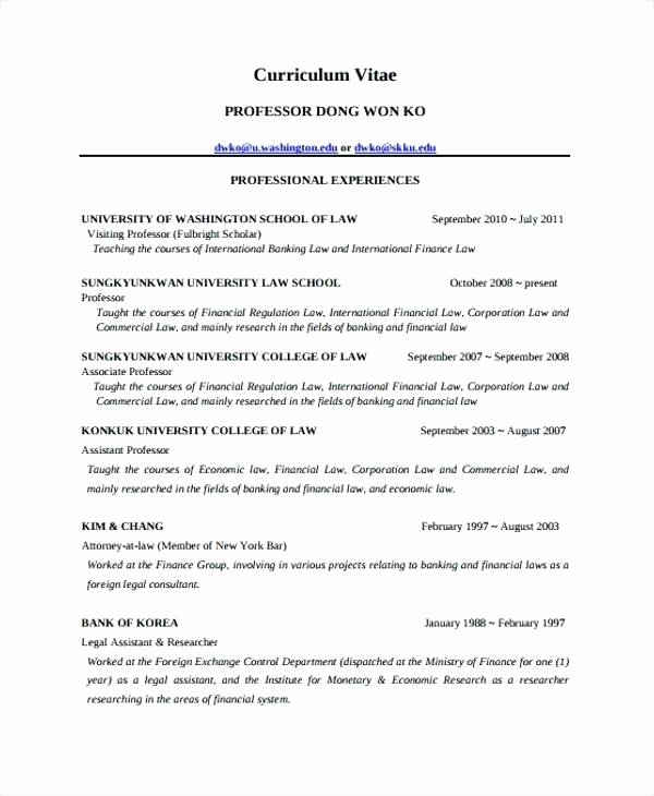 Legal Resume Template Word Inspirational Law School Admissions Resume Template Graduate Sample