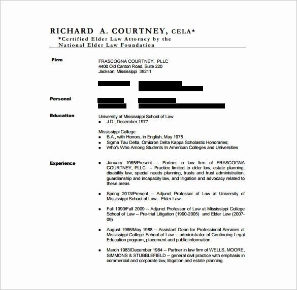 Legal Resume Template Word Unique 8 Best Plantilla Cv Abogado Images On Pinterest