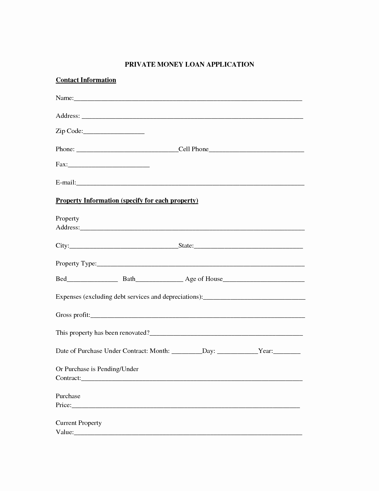 Lending Money Contract Template Free Awesome 10 Best Of Cash Loan Agreement Cash Loan