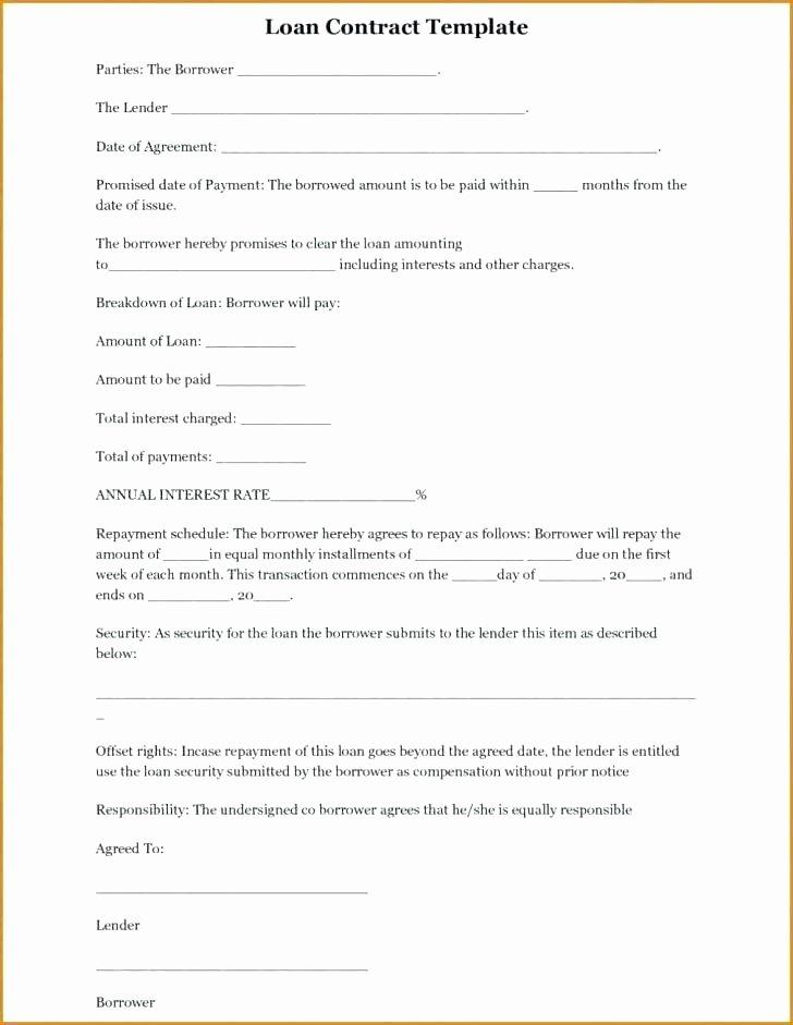 Lending Money Contract Template Free Lovely Money Loan Agreement form Hard Fresh Sample Lending format