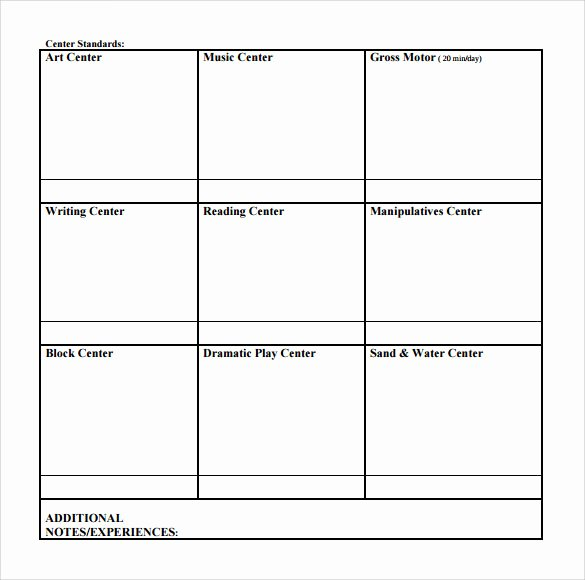 Lesson Plans for toddlers Template Unique 9 toddler Lesson Plan Samples
