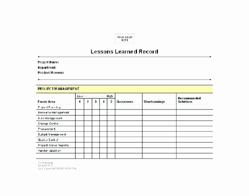 Lessons Learned Project Management Template Lovely Lessons Learned Template Learnt Ppt – Helenamontanafo
