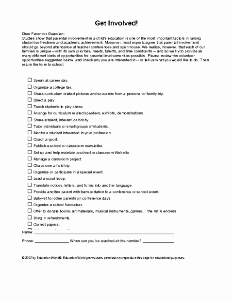 Letter to Parent Template Awesome Sample Letter Looking for Volunteers